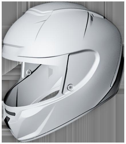 Motorcycle helmet guide