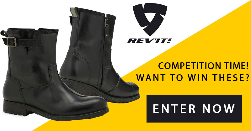 Want to win a new pair of Rev'it Motorcycle Boots?