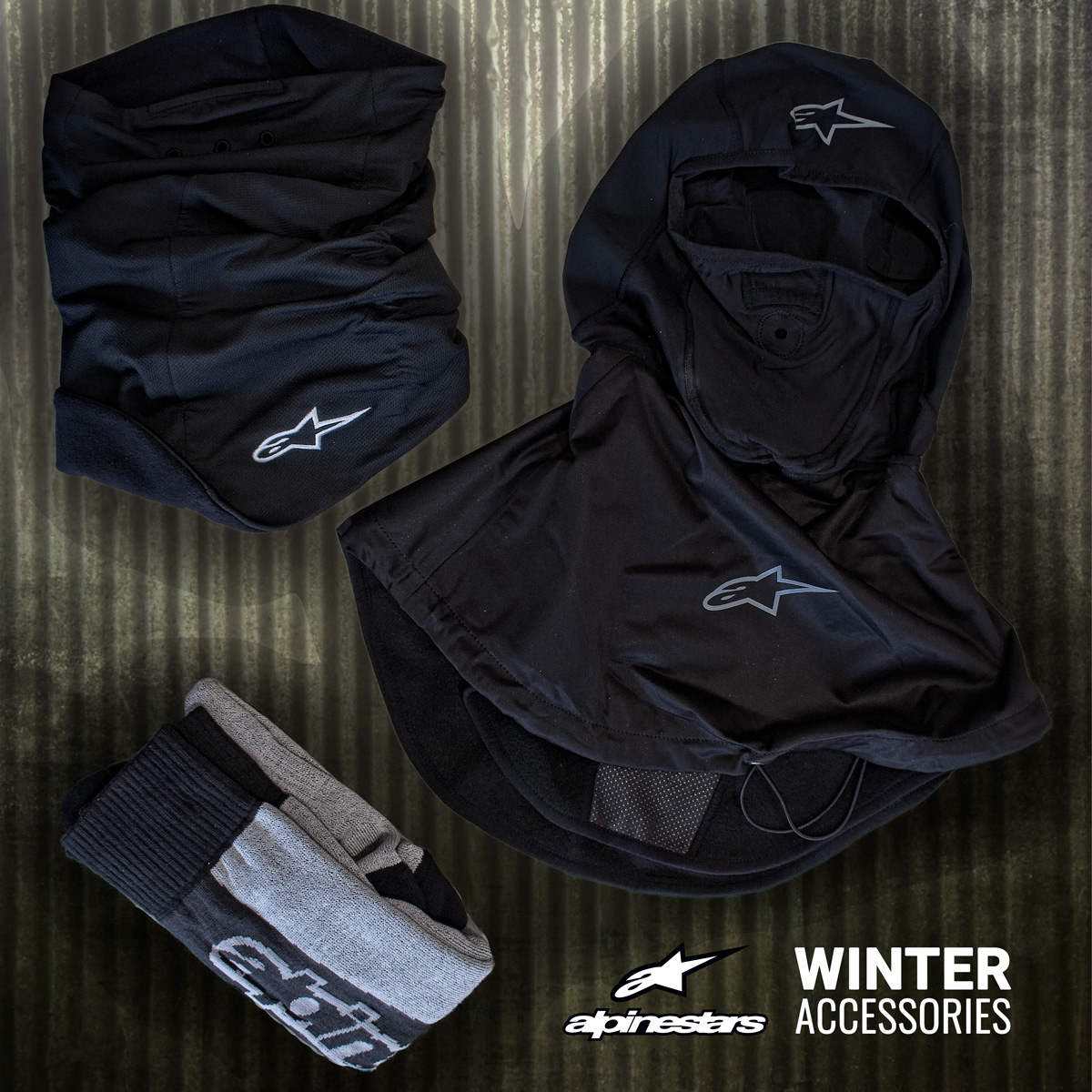 Winter Motorcycle Clothing Accessories: Discover the Alpinestars Range